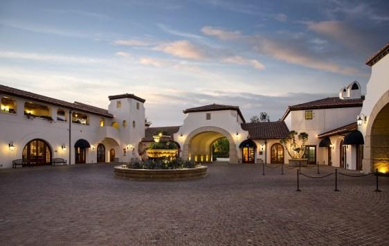 Bacara courtyard