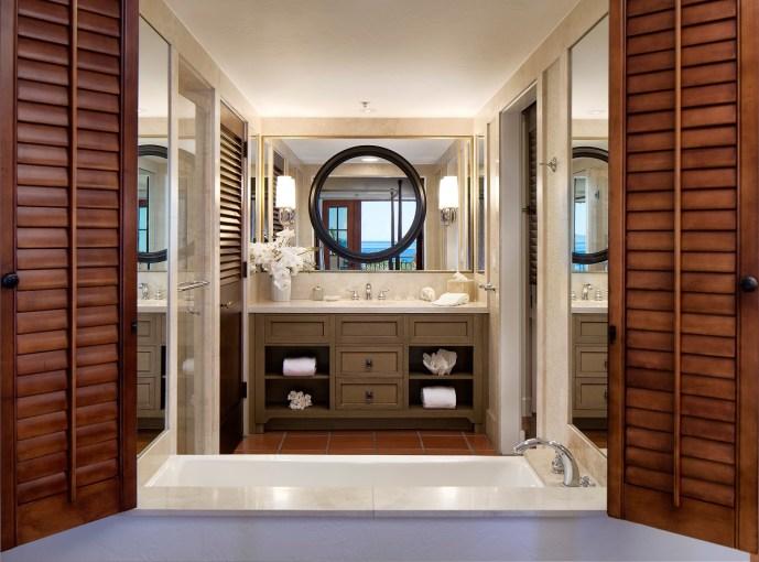 Bacara guestroom bathroom - Picture by Bacara Resort