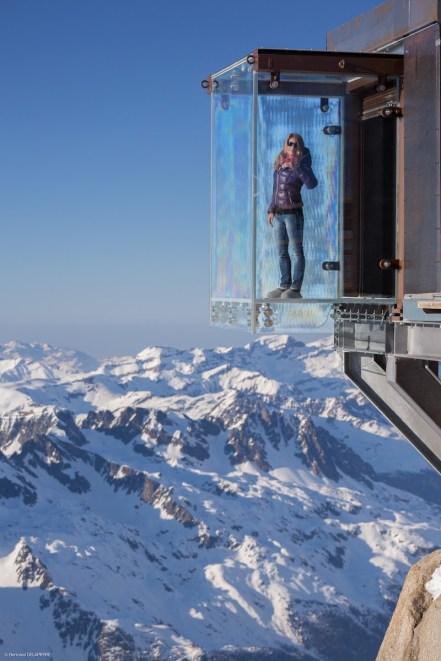 Chamonix Aiguille du Midi - Picture by B. Delapierre