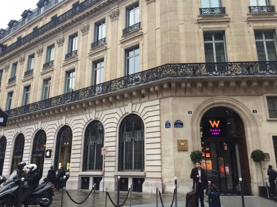W Paris Opera building