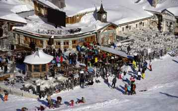 La Folie Douce in Val d'Isere