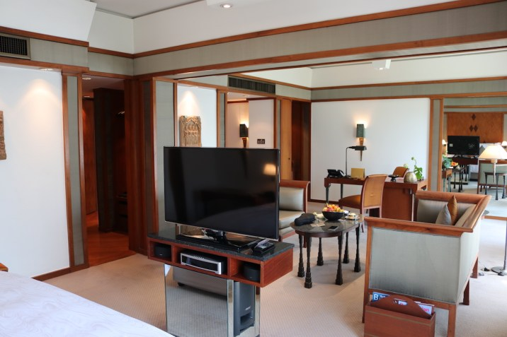 The Sukhothai - Executive Suite open-bedroom