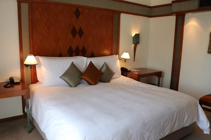 The Sukhothai - Executive Suite bed