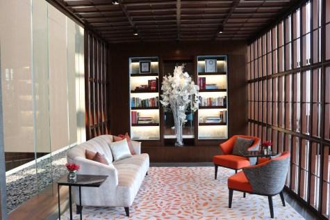 Oriental Club lounge entrance