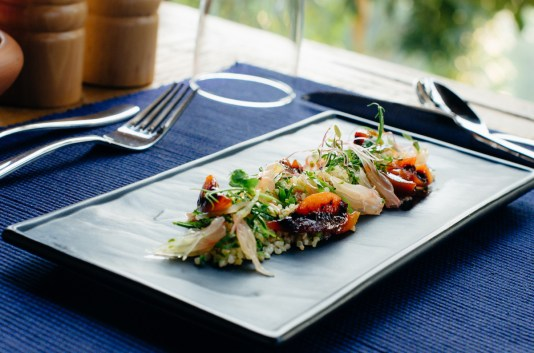 Restaurant food - Picture by resort