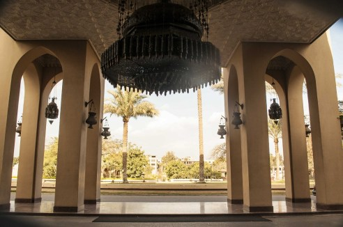 Mena House Hotel entrance - Picture by Travel with Jaye