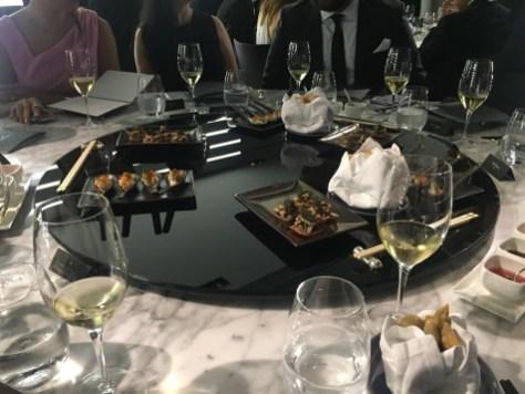 Alain Ducasse 8-course dinner - First starters