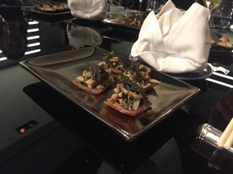 Alain Ducasse 8-course dinner - First starter