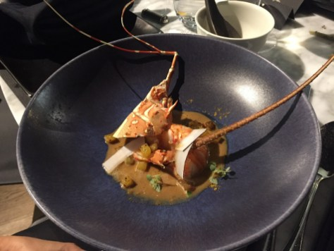 Alain Ducasse 8-course dinner - Second main course