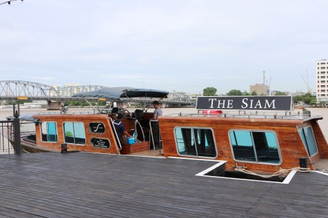 Complimentary limousine boat - The Siam Hotel