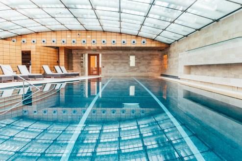 Lucknam Park Hotel indoor pool