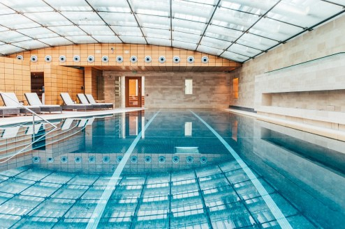 Lucknam Park Hotel indoor pool