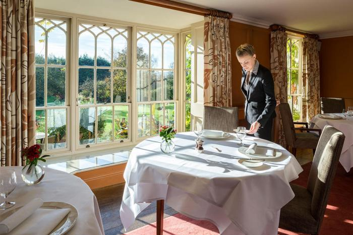 Priory Hotel & Spa dining