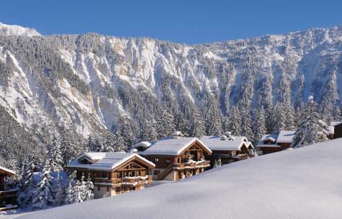 Les 3 Vallées - Snow landscape