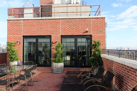 The Ludlow - Rooftop terrace and fitness center