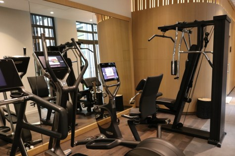 Fitness center at Spa