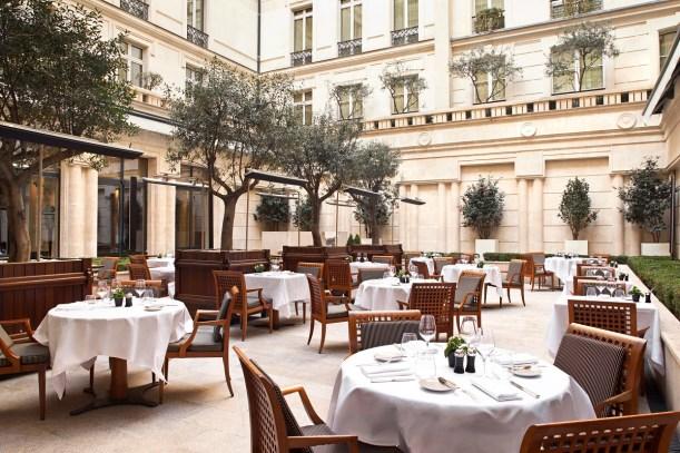 La Terrasse outdoor restaurant - Picture by Hyatt