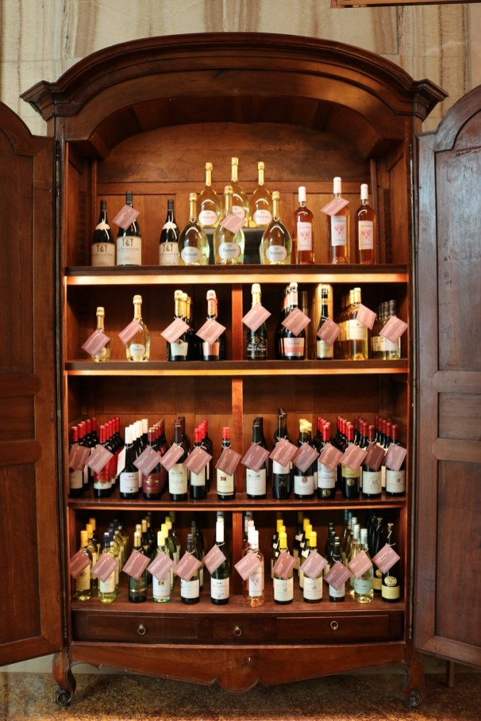 Colony restaurant wine selection