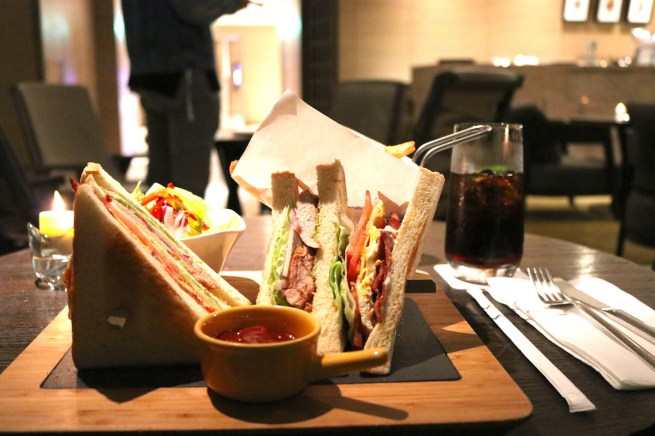 Club Sandwich at The Terrace