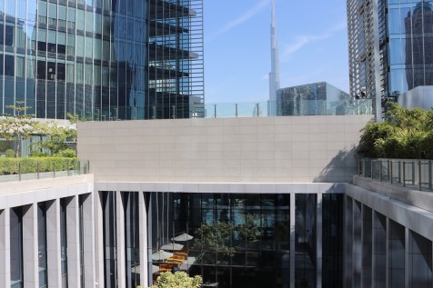 Burj Khalifa view from 3rd floor