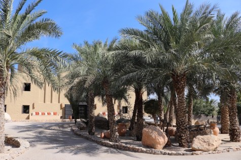 Resort's main entrance