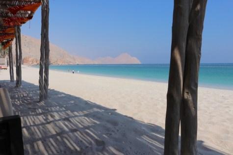 Beach view from Shua Shack restaurant