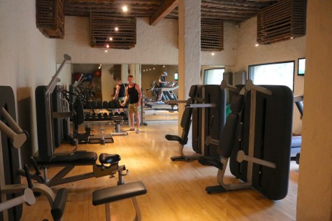 Oberoi Spa - Gym center