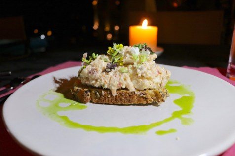 Summer House - Crab and lobster starter