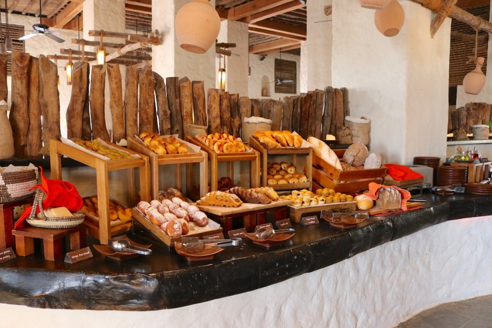 Breakfast - Pastry selection