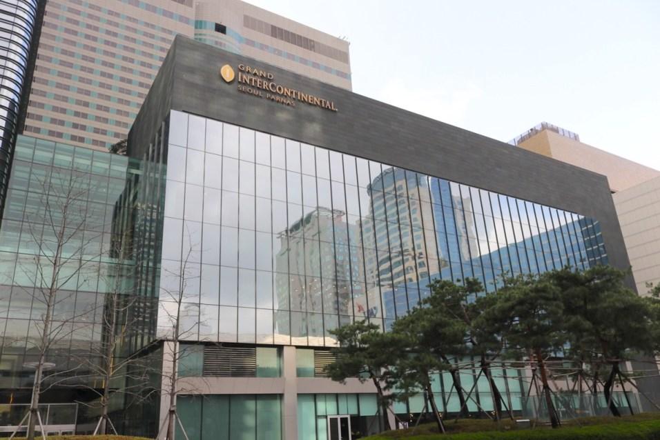 Intercontinental facade