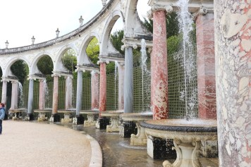 Palace of Versailles Colonnade fountain