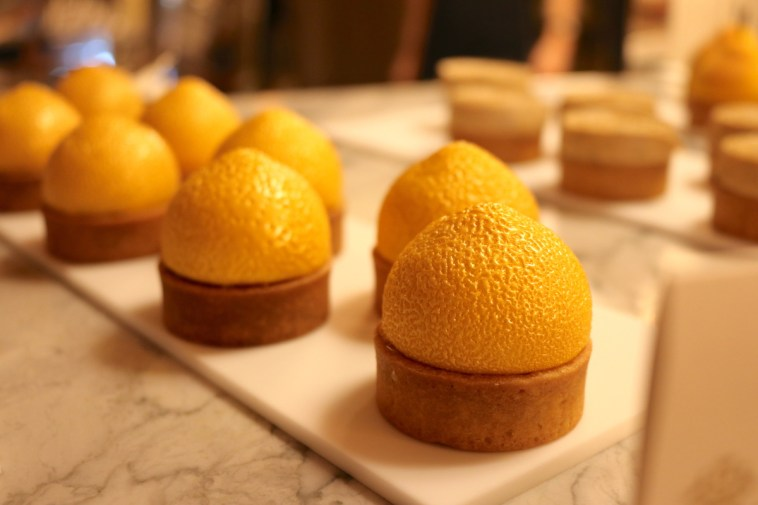Lemon dessert by Cedric Grolet
