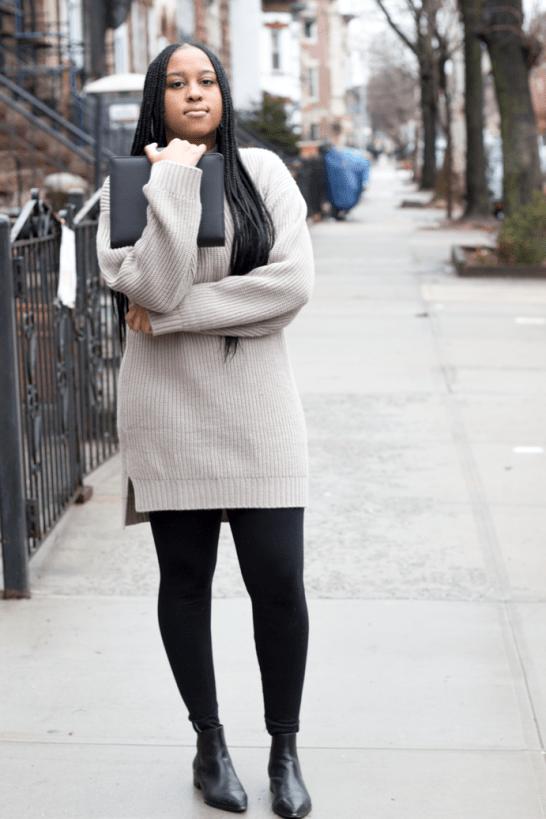 e3ed492ba9e TLM Essentials  3 Ways To Wear The Sweater Dress