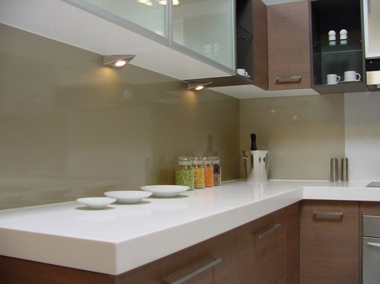 Contemporary Kitchen Counter and Breakfast Bar Design by ... on Kitchen Counter Decor Modern  id=46206