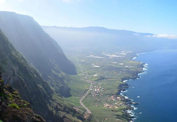 Las vistas de la isla son una auténtica maravilla para los sentidos