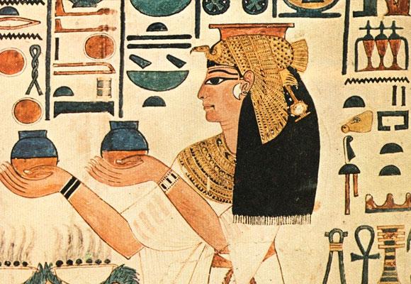 Las tumbas de los faraones contenían vino para el viaje a la otra vida
