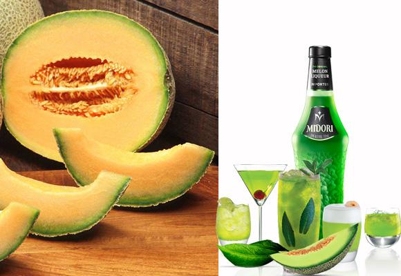 Licor de melón Midori. Compra aquí