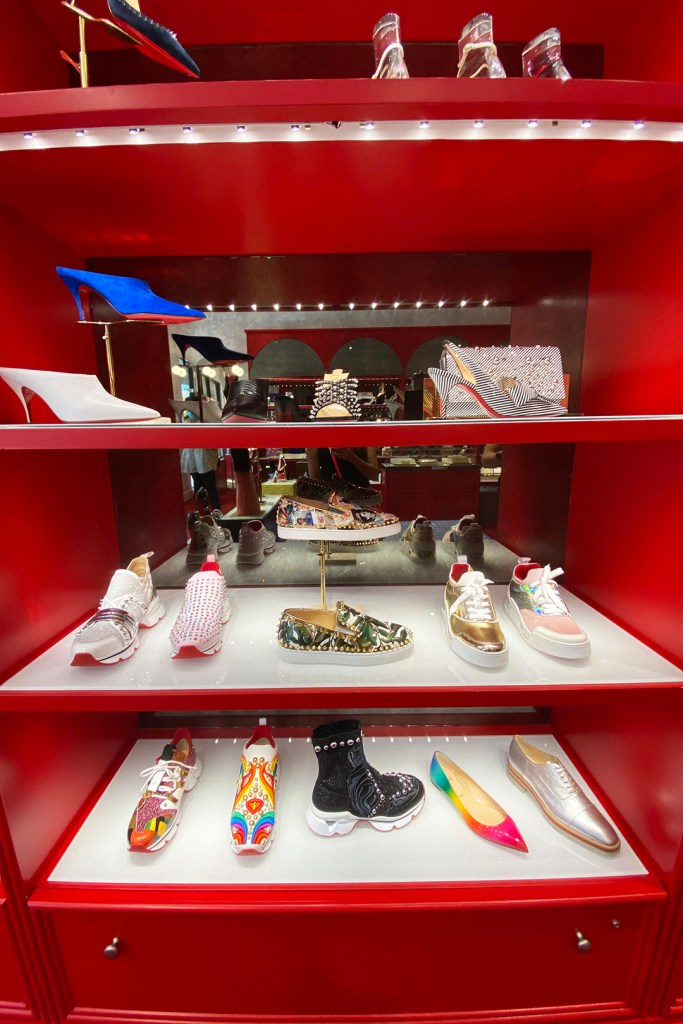 Christian Louboutin Women's Sneakers and Mules (The Luxury Lowdown Blog)