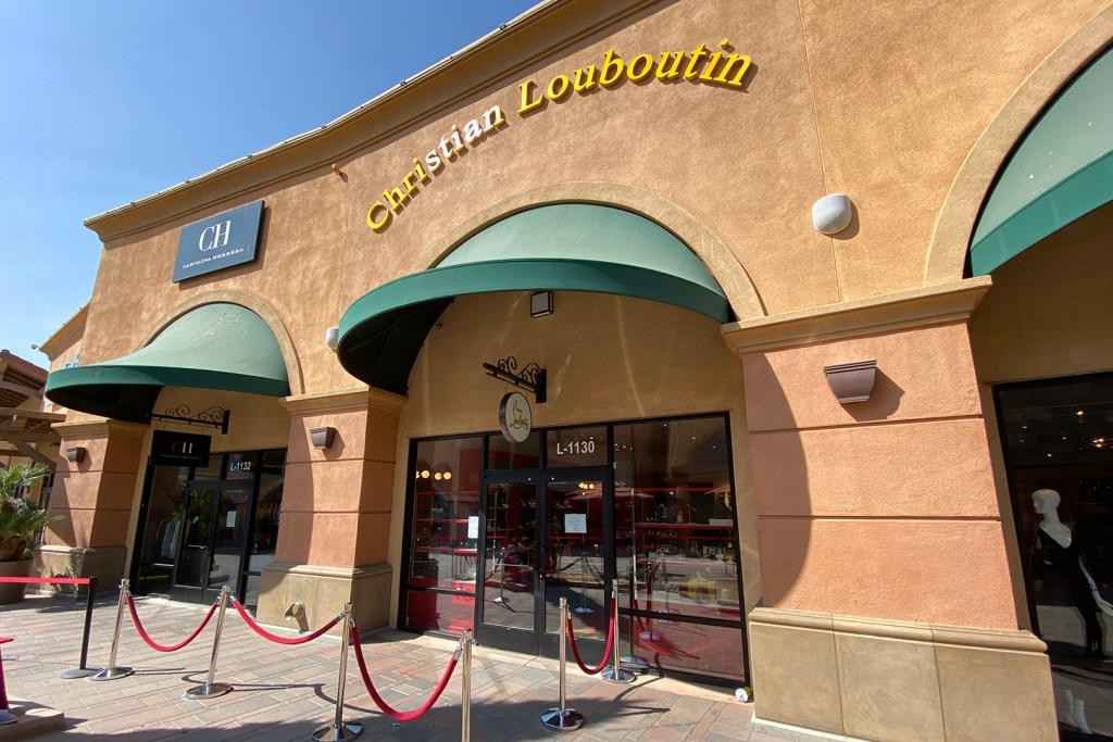 Christian Louboutin Outlet Store (The Luxury Lowdown Blog)
