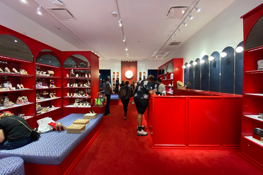 Inside the Christian Louboutin Outlet Store in Cabazon (The Luxury Lowdown Blog)