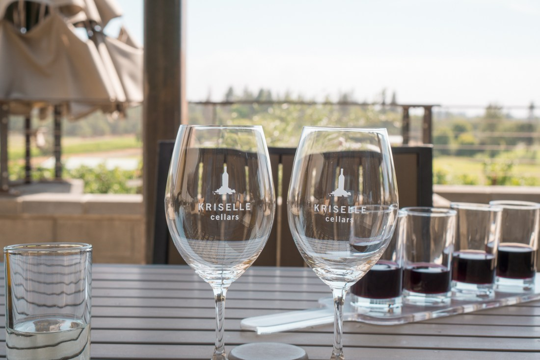 Kriselle Cellars Wine Glasses