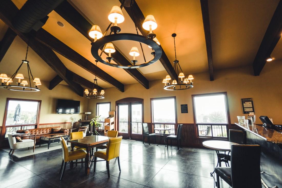Abacela Vineyards Indoor Wine Tasting Area