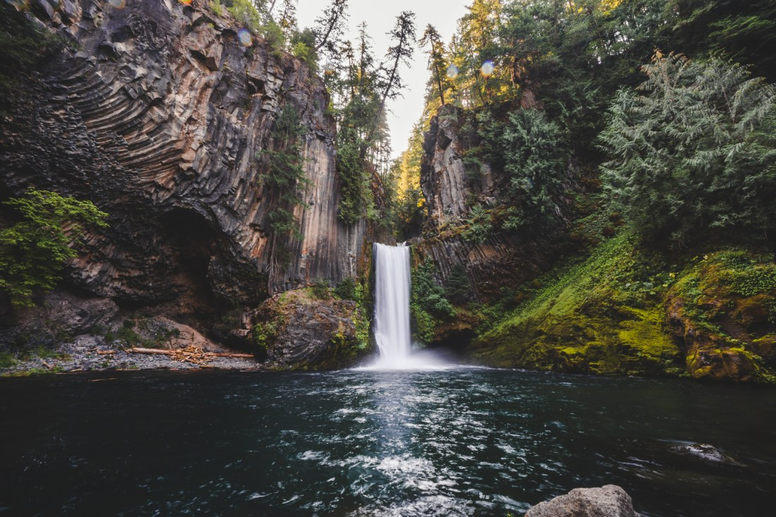 Toketee Falls Photo