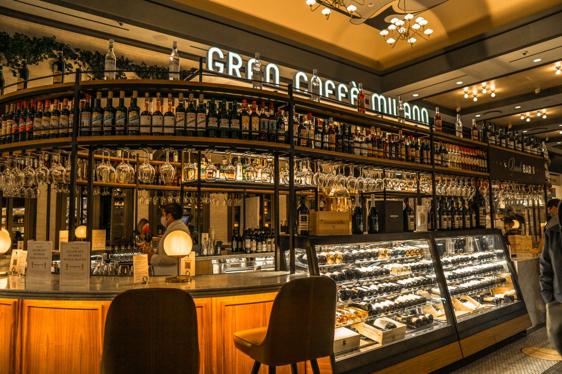 Eataly's Wine Bar Inside of the Park MGM