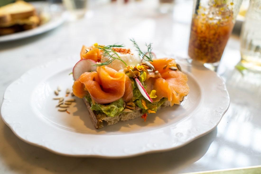 Park MGM Primrose Avocado Toast with Salmon