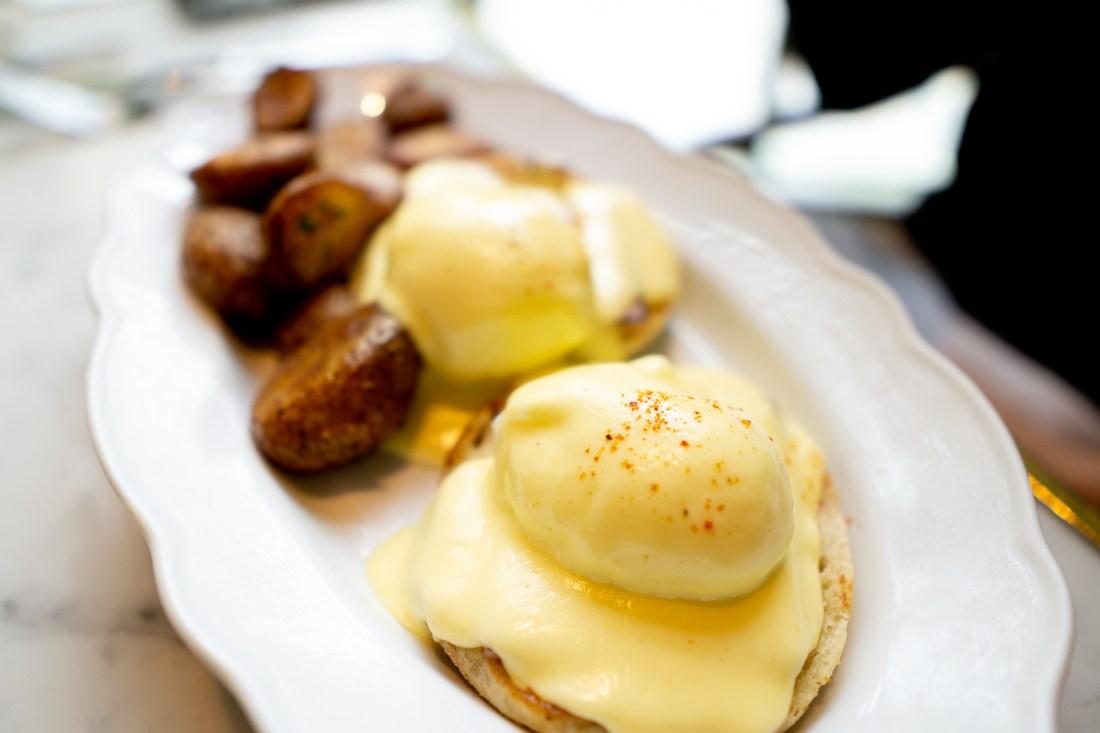 Park MGM Primrose Eggs Benedict