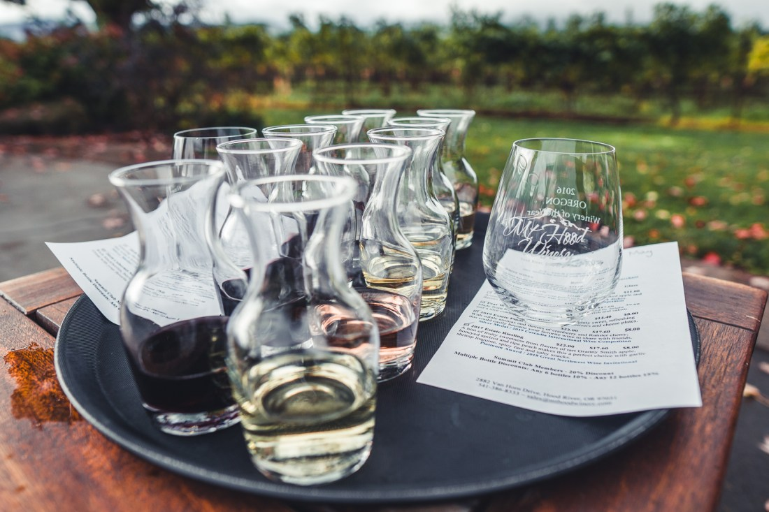Mt. Hood Winery - Alaska Airlines Free Wine Tasting