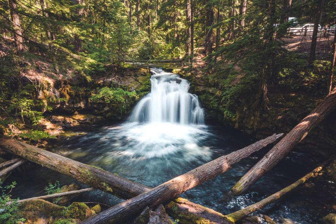 Whitehorse Falls in Umpqua National Forest