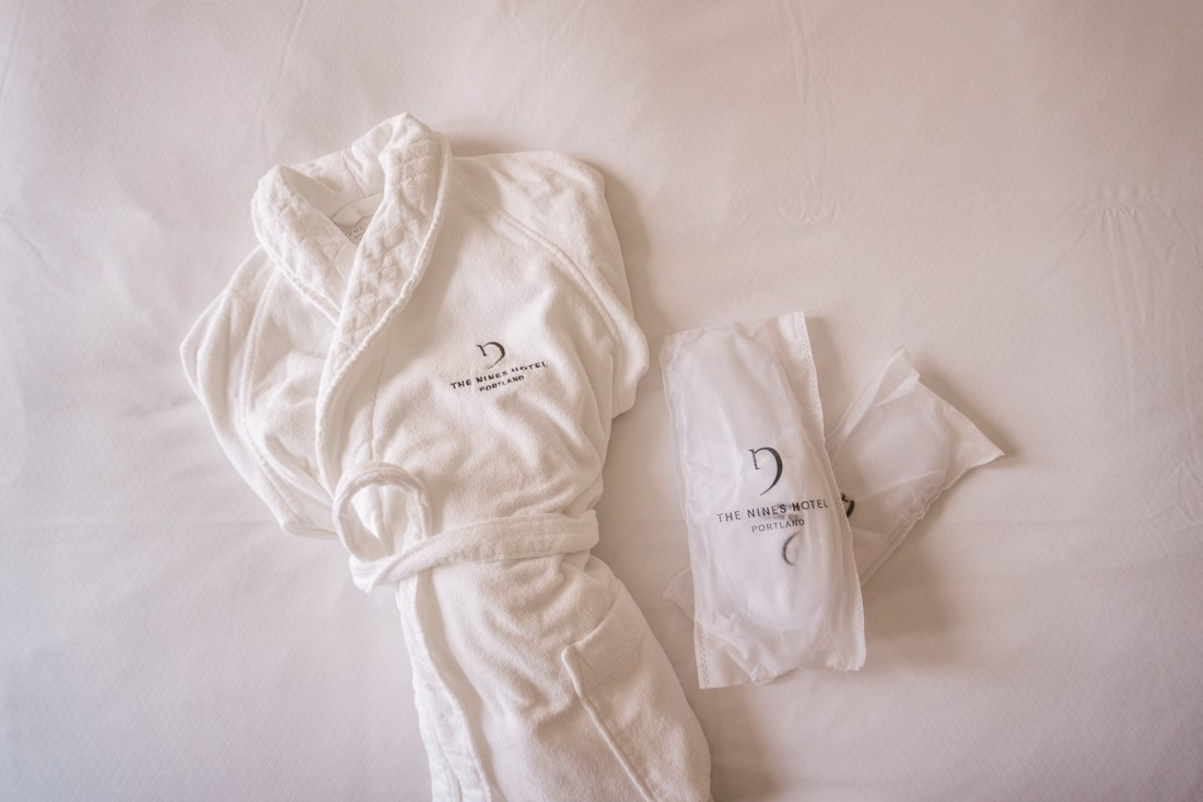 The Nines Hotel Robe and Slippers