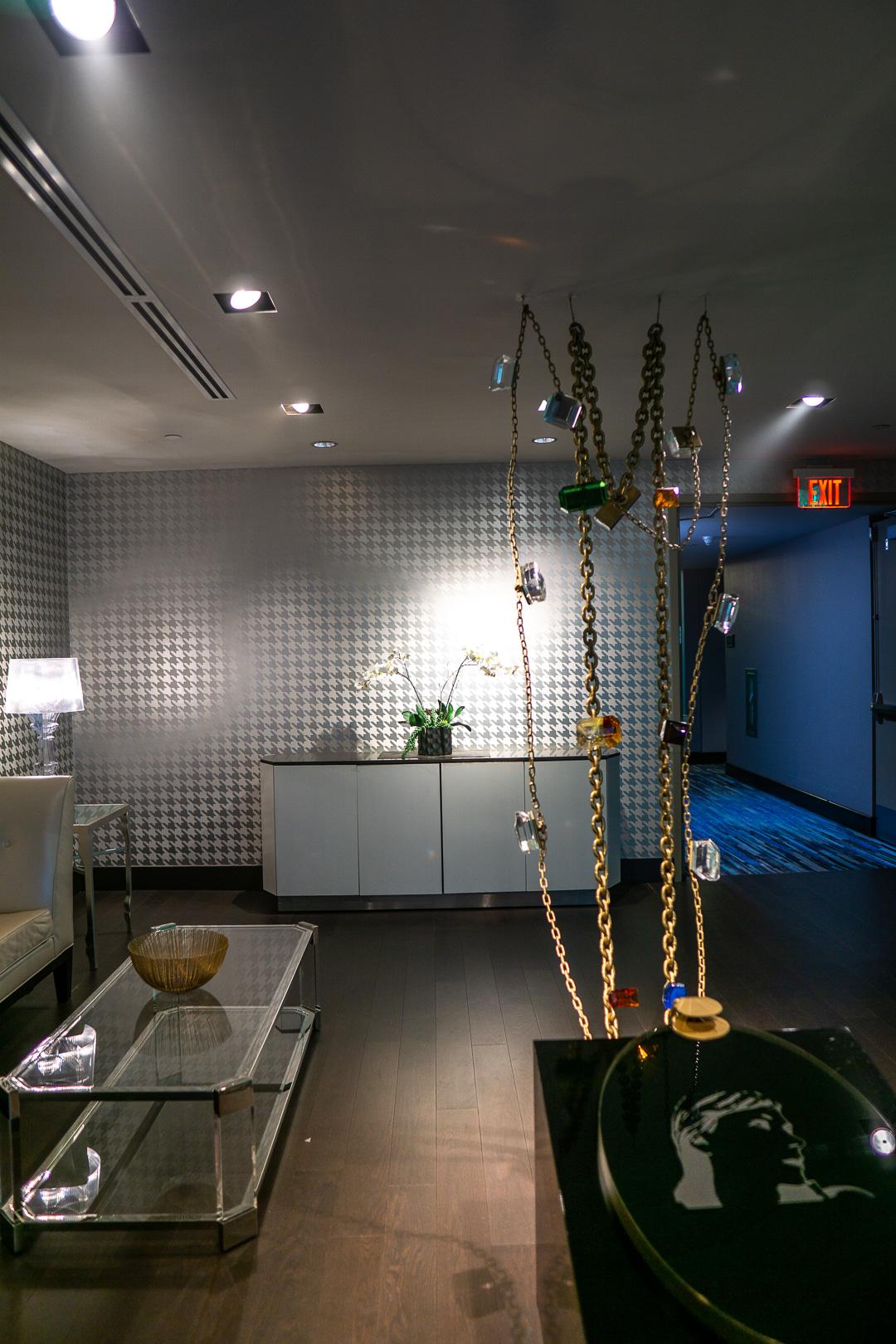 The Nines Hotel's Lobby Art